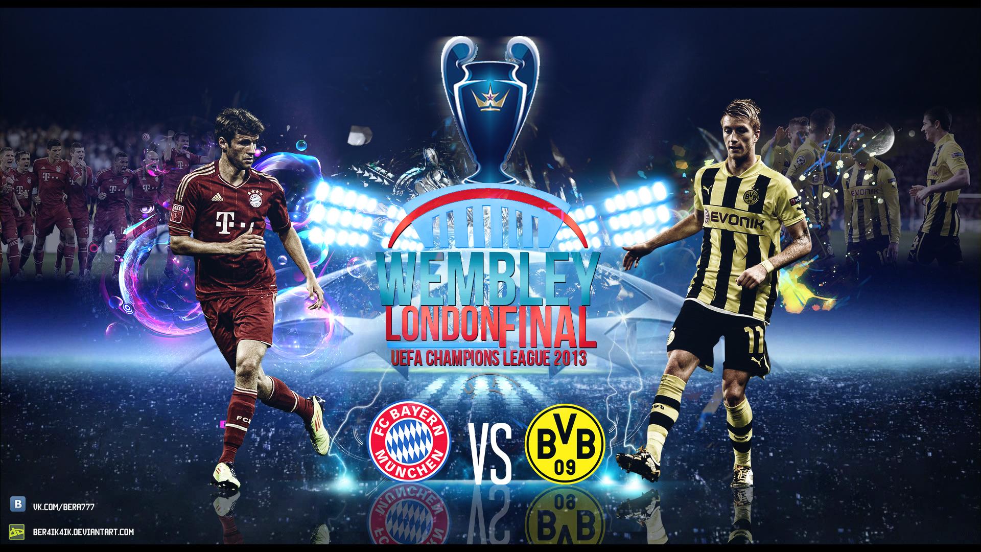 champions league bayern dortmund