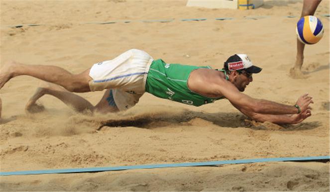 Beachvolleyboll Rom Grand Slam