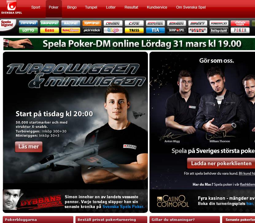 Svenska Spel Poker