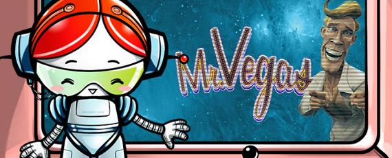 Få 20 Free Spins på Mr Vegas
